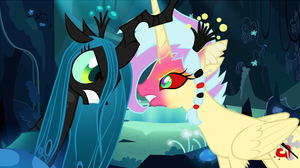 Quarrel of two sisters... by SoulEevee99
