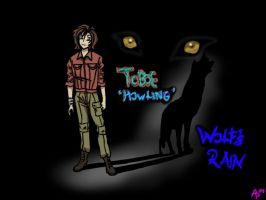 Toboe from Wolf's Rain by WolfsParadise