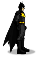 The Batman -DF Style- by MephilesAE