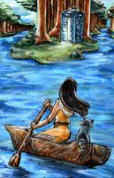When Pocahontas met John Smith by InkBurstStudios