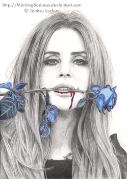 Lana del Rey by MorningSadness