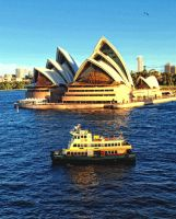 Sydney ferry by Captainttroy