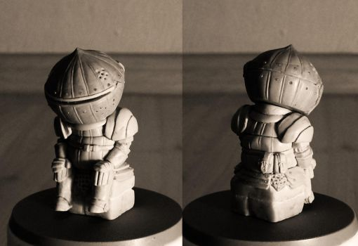 Siegmeyer of Catarina 5cm sculpt by GeekUndead