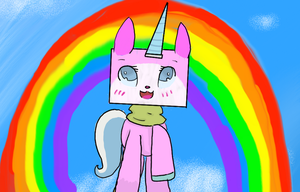 Unikitty by CreeperGirl200