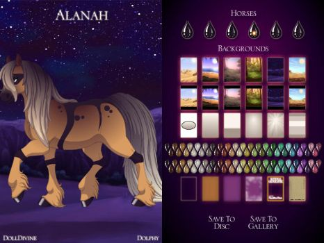 ~Doll Divine: Horse I made for a Horse rp by Cooky-Knight