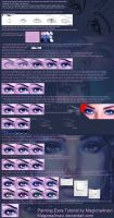 Painting Eyes Tutorial  by MagicnaAnavi