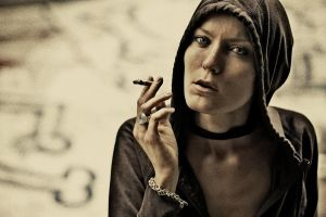 cigarette end by henry-morgan