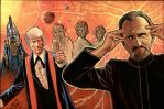 Doctor Who 3rd, and the Master by NIK-Nick