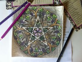 2015 Abundance Pentacle color play by parizadhe