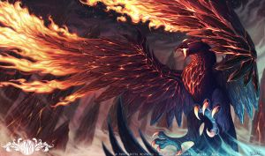 Anivia Volcanic Rebirth - League of Legends by o0dzaka0o