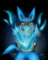 Blue Fire {redraw} by ButlerVicki