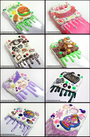 Huge Lot of New Phone Cases! by GrandmaThunderpants