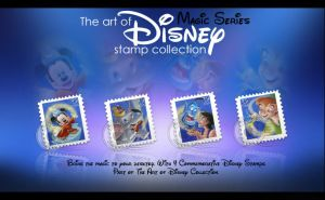 Disney Stamp Collection- Magic by imwalkingwithaghost