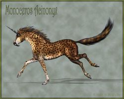 Monoceros Acinonyx by Daio