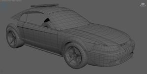 Ford Mustang W.I.P. 1 by Panesar3D