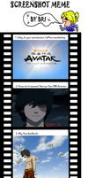 Avatar Screenshot meme xD by Middelo
