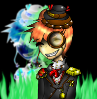Steampunk Slappy by sorrowscall