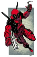 Deadpool Colors by RobertAtkins