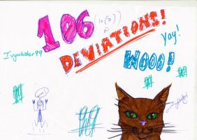 106/7 deviations! by Ivywhisker99