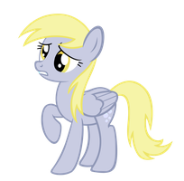 Derpy is worried by sofunnyguy