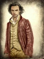 Aidan Turner  as Poldark Colorized by SHParsons