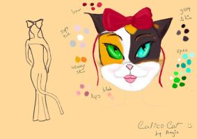 Calico Catwoman by Angiepureheart
