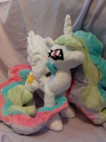 Princess Celestia 2 by DappleHeartPlush