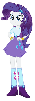 Commission - Miniboots Rarity by SketchMCreations