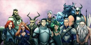 Crowfall by castortroy3497