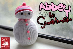 Abbey the Snowman by cleody