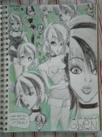 Lots and Lots of Gwen. by MissShell666