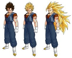 vegetto dbz by Naruttebayo67