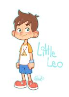 Little Leo color by LuigiL