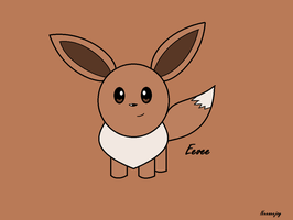 Eevee In Color by neeneejoy