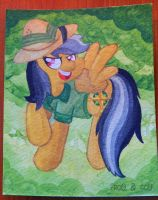 Daring Do Does What Daring Do Do by FrogAndCog