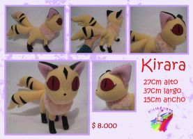 Kirara plush 2013 handmade by chocoloverx3