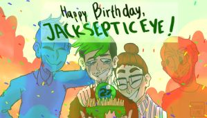 Happy Birthday Jacksepticeye! by NeLite-Art