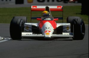 Ayrton Senna (Great Britain 1990) by F1-history