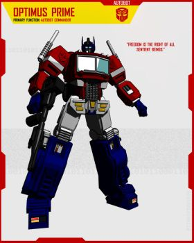 OPTIMUS PRIME by F-for-feasant-design