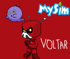 MYSIMS VOLTAR by StarmanPhantom