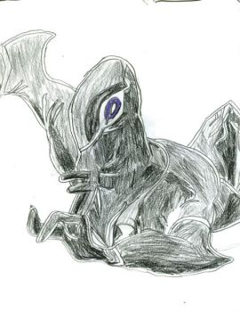 Colorpencil Ghostfreak by Crystalsnake