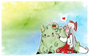 moko and keine by qesito