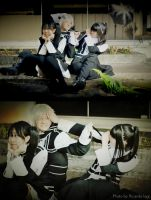 D.Gray-Man - Let's pull the hair Kanda by NeeYumi