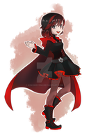 RWBY: Ruby Rose by Kokoroyomi