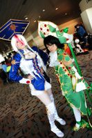 Otakon 2011: Astha and Seth by Pandothiel-Elrond