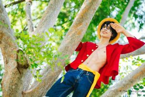 Monkey D. Luffy cosplay by M0nkey-D-Luffy