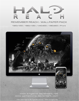 Halo Reach - Wallpaper Pack by Crussong