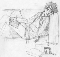 The Doctor - Napping by str4yk1tt3n