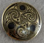 Celtic ornament brass belt buckle by TimforShade