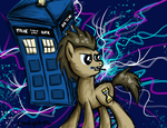 To the TARDIS! by MoonlightFL